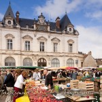 Beaune's Saturday market